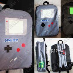 Mochila Videojuegos Consola Game Boy Ecuador Comprar Venden, Bonita Apariencia de game boy, practica, Hermoso material de polipropileno Color azul Estado nuevo
