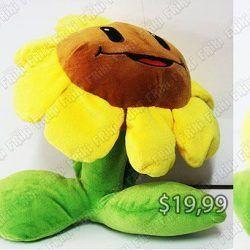 Peluche Videojuegos Plants vs Zombies Girasol Ecuador Comprar Venden, Bonita Apariencia ideal para los fans, practica, Hermoso material de poliéster Color amarillo Estado nuevo