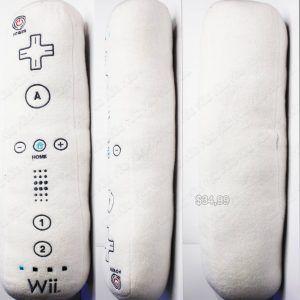 Peluche Videojuegos Consola Wii Mando Ecuador Comprar Venden, Bonita Apariencia de mando de wii, practica, Hermoso material de poliéster Color blanco Estado nuevo
