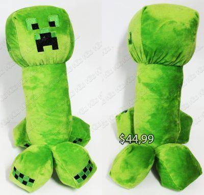 Peluche Videojuegos Minecraft Creeper Ecuador Comprar Venden, Bonita Apariencia ideal para los fans, practica, Hermoso material de poliéster Color como en la imagen Estado nuevo