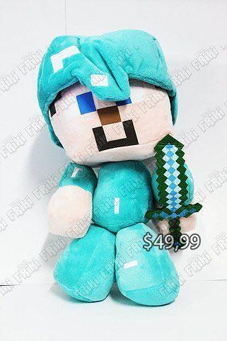 Peluche Videojuegos Minecraft Steve Ecuador Comprar Venden, Bonita Apariencia ideal para los fans, practica, Hermoso material de poliéster Color como en la imagen Estado nuevo