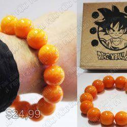 Pulsera Anime Dragon Ball Esferas Ecuador Comprar Venden, Bonita Apariencia, practica, Hermoso material de plástico Color anaranajado Estado nuevo