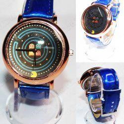 Reloj de pulsera Videojuegos Pacman Fantasmas Ecuador Comprar Venden, Bonita Apariencia ideal para los fans, practica, Hermoso material de acero inoxidable Color azul Estado nuevo
