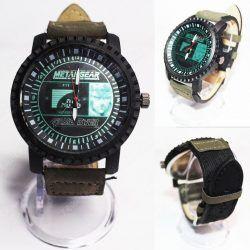 Reloj de pulsera Videojuegos Metal Gear Solid Logo Ecuador Comprar Venden, Bonita Apariencia ideal para los fans, practica, Hermoso material de acero inoxidable Color negro Estado nuevo