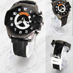 Reloj de pulsera Videojuegos Overwatch Logo Ecuador Comprar Venden, Bonita Apariencia ideal para los fans, practica, Hermoso material de acero inoxidable Color negro Estado nuevo