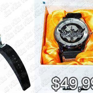 Reloj de pulsera Videojuegos League of Legends Logo Ecuador Comprar Venden, Bonita Apariencia ideal para los fans, practica, Hermoso material de acero inoxidable Color negro Estado nuevo