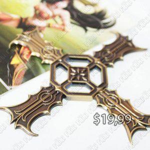 Réplica Videojuegos League of Legends Arma X Ecuador Comprar Venden, Bonita Apariencia ideal para los fans, practica, Hermoso material de bronce niquelado Color dorado Estado nuevo