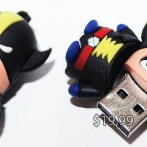 USB Comics X-Men Wolverine Ecuador Comprar Venden, Bonita Apariencia perfecto para trabajos, practica, Hermoso material de plástico Color negro Estado nuevo