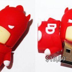 USB Cómics Daredevil Ecuador Comprar Venden, Bonita Apariencia perfecto para trabajos, practica, Hermoso material de plástico Color rojo Estado nuevo