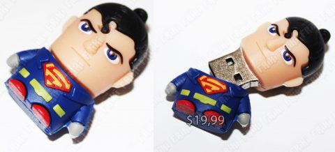 USB Comics Superman Ecuador Comprar Venden, Bonita Apariencia perfecto para trabajos, practica, Hermoso material de plástico Color azul Estado nuevo