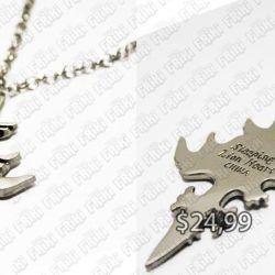 Collar Videojuegos Final Fantasy Sleeping Lion Ecuador Comprar Venden, Bonita Apariencia ideal para los fans, practica, Hermoso material de bronce niquelado Color plateado Estado nuevo