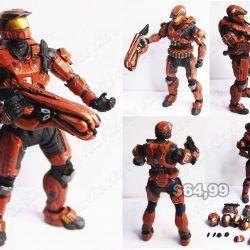 Figura Videojuegos Halo Spartan Rojo Ecuador Comprar Venden, Bonita Apariencia ideal para los fans, practica, Hermoso material plástico Color rojo Estado nuevo