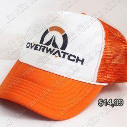 Gorra Videojuegos Overwatch Logo Ecuador Comprar Venden, Bonita Apariencia ideal para los fans, practica, Hermoso material de algodón Color blanco y tomate Estado nuevo