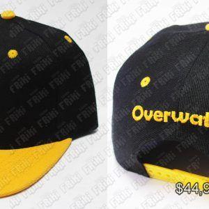 Gorra Videojuegos Overwatch Logo Ecuador Comprar Venden, Bonita Apariencia ideal para los fans, practica, Hermoso material de algodón Color amarillo y negro Estado nuevo