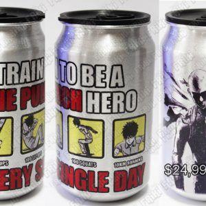 Termo Anime One Punch Man Saitama Ecuador Comprar Venden, Bonita Apariencia perfecta y útil para fans de la serie, practica, Hermoso material de aluminio Color plateado Estado nuevo