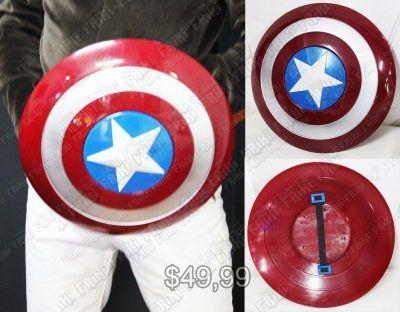 Replica Cómics Capitán América Escudo Comprar Venden, Bonita Apariencia perfecta para coleccionistas y fans de los comics, practica, Hermoso material de plástico Color como en la foto Estado nuevo