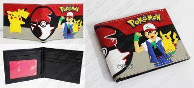 Billetera Videojuegos Pokémon Ash y Pikachu Ecuador Comprar Venden, Bonita Apariencia perfecta para los fans, practica, Hermoso material de cuerina Color como en la foto Estado nuevo