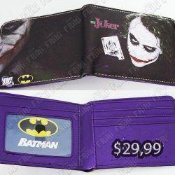 Billetera Cómics Joker Ecuador Comprar Venden, Bonita Apariencia perfecta para los fans del personaje, practica, Hermoso material de cuerina Color como en la foto Estado nuevo