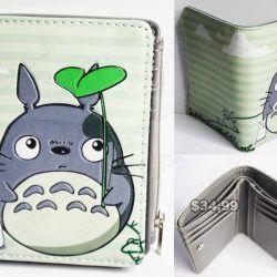 Billetera Anime Mi Vecino Totoro Ecuador Comprar Venden, Bonita Apariencia perfecta para los fans, practica, Hermoso material de cuerina Color como en la foto Estado nuevo