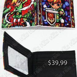 Billetera Videojuegos The Legend of Zelda Ecuador Comprar Venden, Bonita Apariencia perfecta para los fans, practica, Hermoso material de cuerina Color como en la foto Estado nuevo