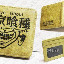 Billetera Anime Tokyo Ghoul Logo Ecuador Comprar Venden, Bonita Apariencia perfecta para los fans, practica, Hermoso material de cuerina Color como en la foto Estado nuevo