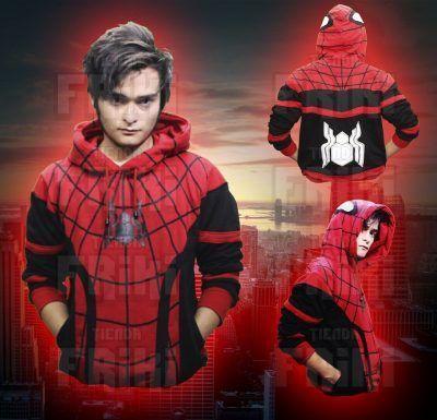 Chaqueta Cómics Spiderman Ecuador Comprar Venden, Bonita Apariencia ideal para los fans, practica, Hermoso material de poliéster Color rojo Estado nuevo