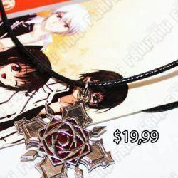 Collar Anime Vampire Knight Rose Ecuador Comprar Venden, Bonita Apariencia ideal para los fans, practica, Hermoso material de bronce niquelado Color como en la imagen Estado nuevo