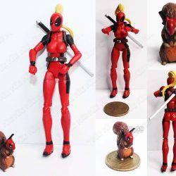 Figura Cómics Deadpool Lady Deadpool Ecuador Comprar Venden, Bonita Apariencia ideal para los fans del personaje, practica, Hermoso material plástico Color como en la imagen Estado nuevo