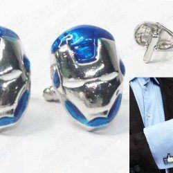 Gemelos Cómics Iron-Man Ecuador Comprar Venden, Bonita Apariencia perfecto para los fans del personaje, practica, Hermoso material de bronce niquelado Color plateado y azul Estado nuevos
