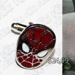 Gemelos Cómics Spiderman Ecuador Comprar Venden, Bonita Apariencia perfecto para los fans del personaje, practica, Hermoso material de bronce niquelado Color rojo Estado nuevos