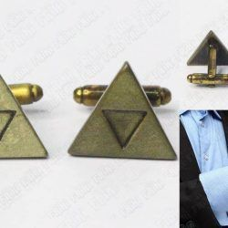 Gemelos Videojuegos The Legend of Zelda Trifuerza Ecuador Comprar Venden, Bonita Apariencia perfecto para los fans de la serie, practica, Hermoso material de bronce niquelado Color dorado Estado nuevos