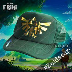 Gorra Videojuegos The Legend of Zelda Logo Ecuador Comprar Venden, Bonita Apariencia ideal para los fans, practica, Hermoso material de algodón y buckram Color como en la imagen Estado nuevo