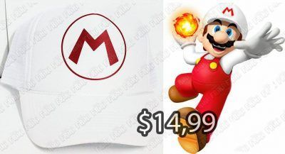 Gorra Videojuegos Super Mario Bros. Fire Mario Ecuador Comprar Venden, Bonita Apariencia ideal para los fans, practica, Hermoso material de algodón y buckram Color como en la imagen Estado nuevo