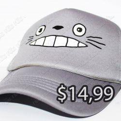 Gorra Anime Mi Vecino Totoro Ecuador Comprar Venden, Bonita Apariencia ideal para los fans, practica, Hermoso material de algodón y buckram Color como en la imagen Estado nuevo