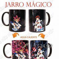 Jarro mágico Anime Yu-Gi-Oh Yugi Ecuador Comprar Venden, Bonita Apariencia ideal para los fans, practica, Hermoso material de cerámica Color negro Estado nuevo