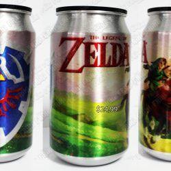 Latas Videojuegos The Legend of Zelda Ocarina of Time Ecuador Comprar Venden, Bonita Apariencia ideal para los fans, practica, Hermoso material de aluminio Color como en la imagen Estado nuevo