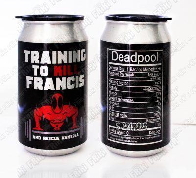 Termo Cómics Deadpool Ecuador Comprar Venden, Bonita Apariencia, práctica, Hermoso material: Aluminio Color: Rojo y negro Estado: Nuevo