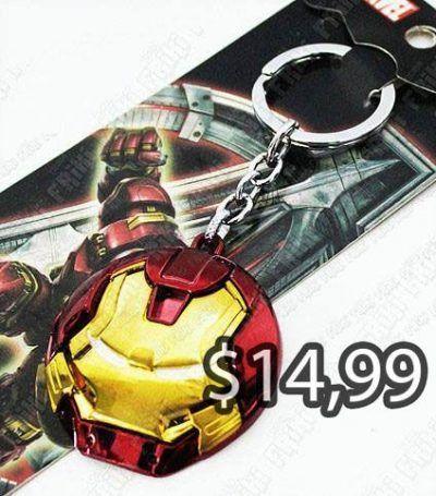 Llavero Cómics Iron-Man Ecuador Comprar Venden, Bonita Apariencia perfecto para decorar tus pertenencias, practica, Hermoso material de bronce niquelado Color rojo y amarillo Estado nuevo