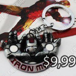 Llavero Cómics Iron-Man Ecuador Comprar Venden, Bonita Apariencia perfecto para decorar tus pertenencias, practica, Hermoso material de bronce niquelado Color Plateado Estado nuevo