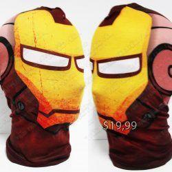 Mascara Cómics Iron man Ecuador Comprar Venden, Bonita Apariencia perfecta para fans del personaje, practica, Hermoso material de tela, Color como en la foto Estado nuevo