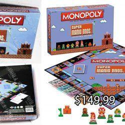 Monopoly Videojuegos Super Mario Bros. Ecuador Comprar Venden, Bonita Apariencia ideal para los fans, practica, Hermoso material de polipropileno Color como en la imagen Estado nuevo