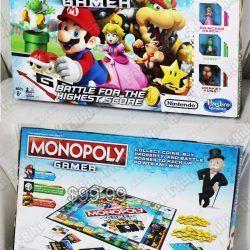 Monopoly Videojuegos Super Mario Bros. Gamer Ecuador Comprar Venden, Bonita Apariencia ideal para los fans, practica, Hermoso material de polipropileno Color como en la imagen Estado nuevo