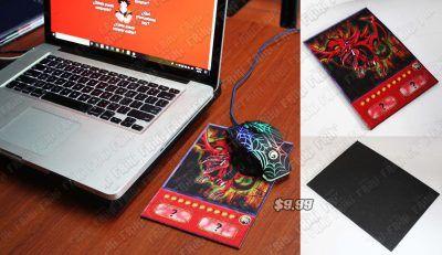 Mousepad Anime Yu-Gi-Oh Slifer El Dragón del Cielo Ecuador Comprar Venden, Bonita Apariencia ideal para los fans, practica, Hermoso material de caucho de goma Color como en la imagen Estado nuevo