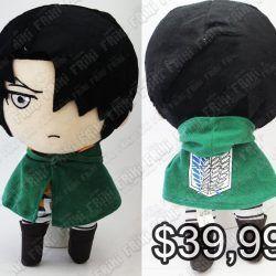 Peluche Anime Shingeki no Kyojin Levi Ecuador Comprar Venden, Bonita Apariencia ideal para los fans, practica, Hermoso material de poliéster Color como en la imagen Estado nuevo