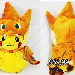 Peluche Videojuegos Pokémon Pikachu disfraz Mega Charizard Y Ecuador Comprar Venden, Bonita Apariencia ideal para los fans, practica, Hermoso material de poliéster Color como en la imagen Estado nuevo