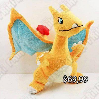 Peluche Videojuegos Pokémon Charizard Ecuador Comprar Venden, Bonita Apariencia ideal para los fans, practica, Hermoso material de poliéster Color como en la imagen Estado nuevo