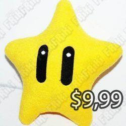 Peluche Videojuegos Super Mario Bros. Super Star Ecuador Comprar Venden, Bonita Apariencia ideal para los fans, practica, Hermoso material de poliéster Color como en la imagen Estado nuevo