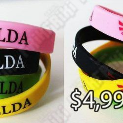 Pulsera Videojuegos The Legend of Zelda Logo Ecuador Comprar Venden, Bonita Apariencia ideal para los fans, practica, Hermoso material de caucho Color como en la imagen Estado nuevo