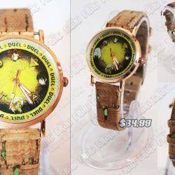 Reloj de pulsera Anime Yu-Gi-Oh Es hora del duelo! Ecuador Comprar Venden, Bonita Apariencia ideal para los fans, practica, Hermoso material de bronce niquelado Color como en la imagen Estado nuevo