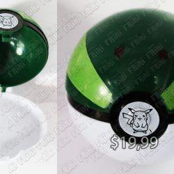 Réplica Videojuegos Pokémon Pokeball Verde Ecuador Comprar Venden, Bonita Apariencia ideal para los fans, practica, Hermoso material de poliéster Color como en la imagen Estado nuevo